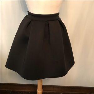 Charlotte Russe scuba mini skater mini skirt